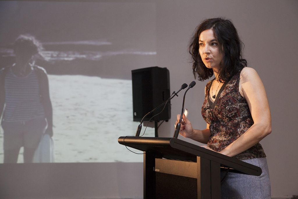 woman at lectern_melbourne photographer_events photography melbourne_art documentation_4