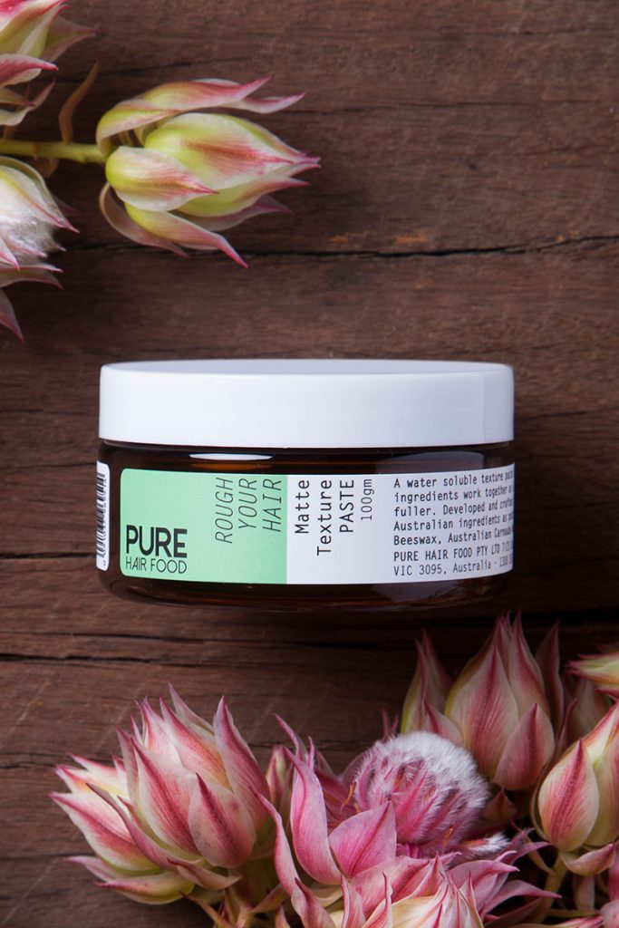 hair product and flower_melbourne photographer_beauty hair care_product photography_branding_4