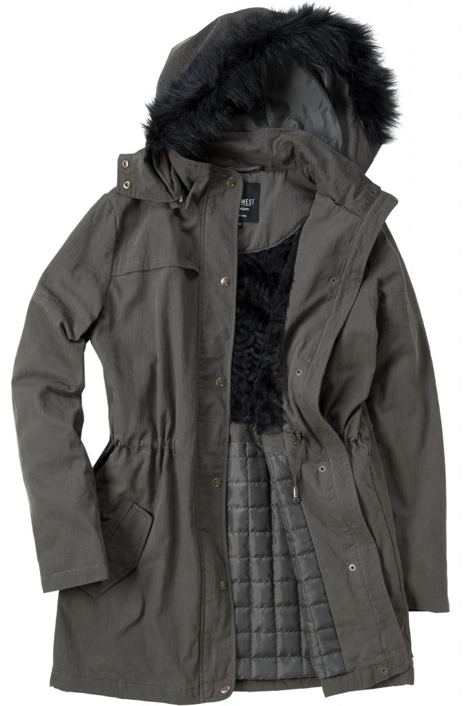 41667-01-Lola Water Resistant Jacket-Dusty Olive-1